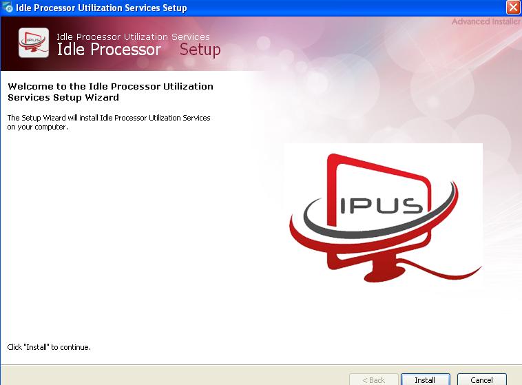 установка программы Ipuservices