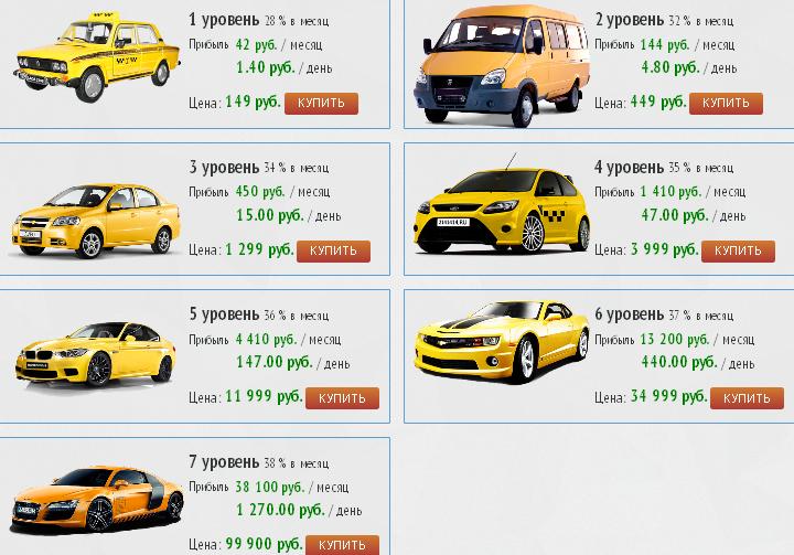 тачки Taxi Money
