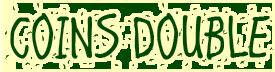 logo coins double