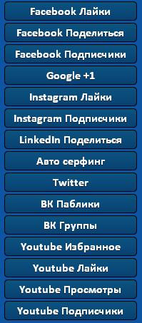 Раскрутка социальных сетей