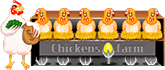 logo chickens farm