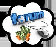 Заработок в интернете на форумах