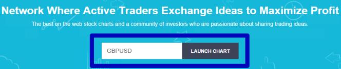 указание валютной пары на tradingview