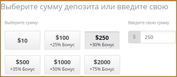 Брокер бинарных опционов Finmax