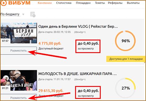Как заработать на размещении чужих видео на собственных ресурсах: ТОП-5 сайтов для заработка денег без вложений на размещении видео