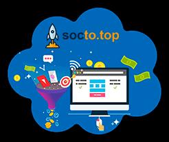 Socto.top - новейшая биржа заданий и социального продвижения с рекламным расширением для дополнительного заработка без вложений: обзор + личный отзыв о проекте