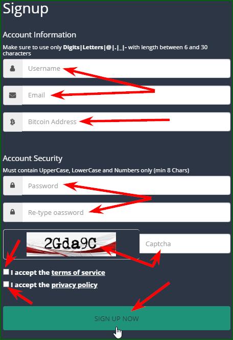 регистрация на Express Crypto