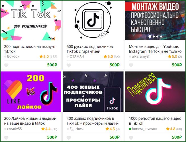 ведение, продвижение и раскрутка чужих аккаунтов TikTok за деньги