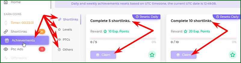 ежедневный и прочие бонусы на кране Faucet Crypto
