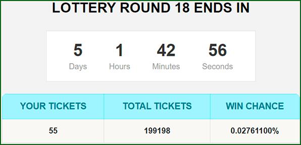 билеты биткоин лотереи на Uulotto