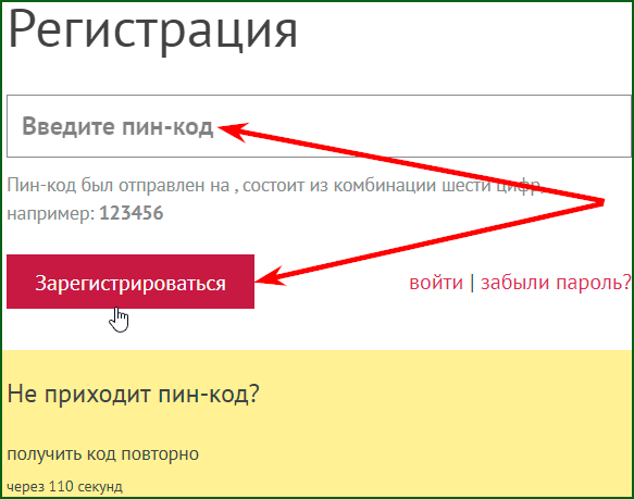регистрация ePayCore кошелька шаг 3